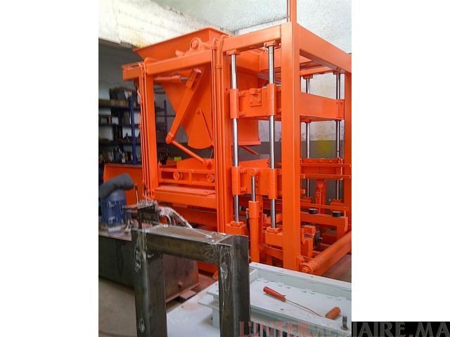 machine de parpaing,brique,hourdis