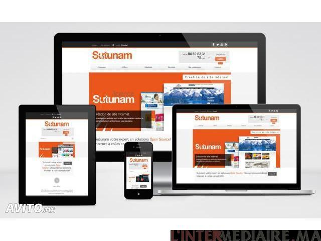 Création de votre site web professionne
