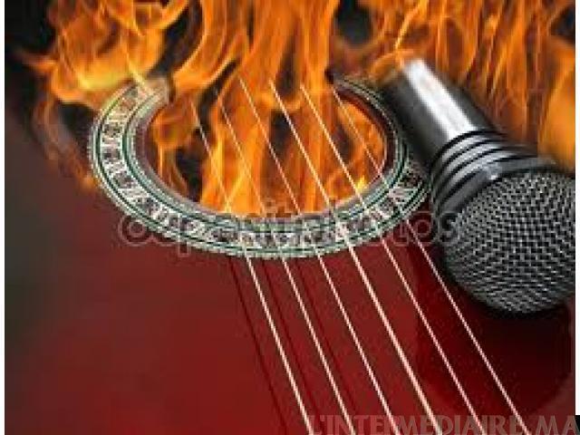 Cours de Guitare et de Chant à domicile
