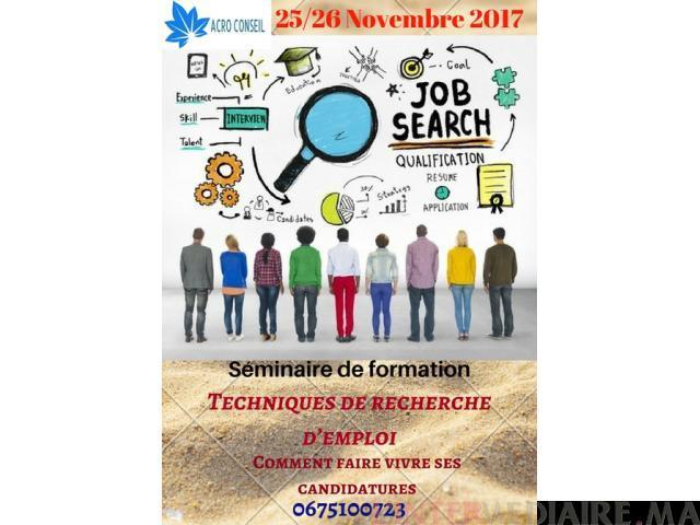 Formation : recherche d'emploi