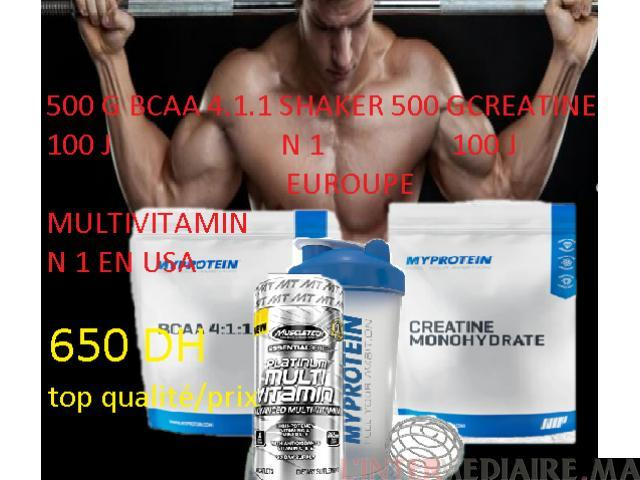 compliments alimentaire de musculation