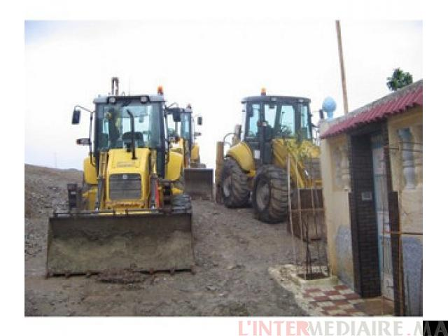 Tracto Pelle New Holland Lb