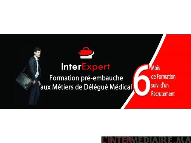 Devenez Délégué Médical chez INTEREXPERT
