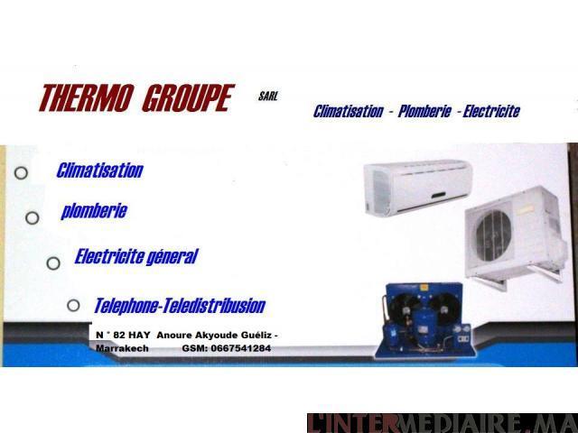 Réparation et l'installation climatisati