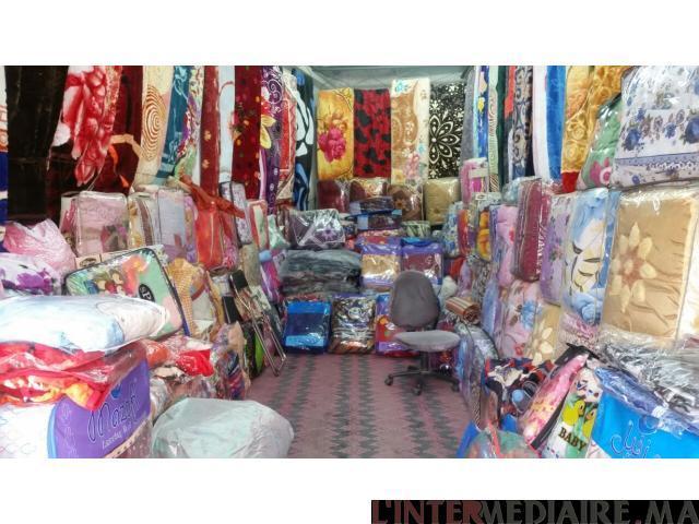 محل تجاري للبيع بمدينة تازة الطول 6 متر