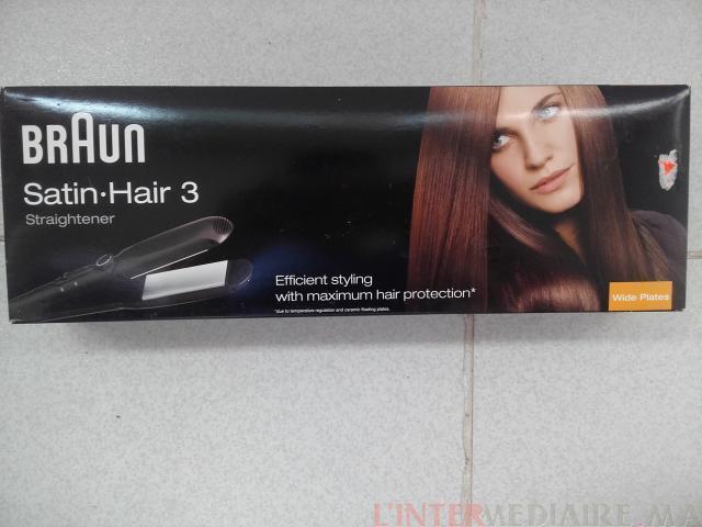 Braun Satin Hair 3 lisseur électrique