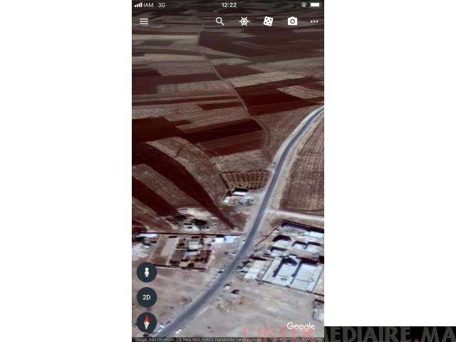 Terrain vendre de 5334 m2 .