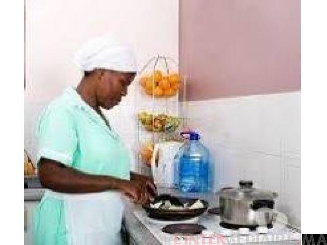 femme de menages,nounous et cuisinieres