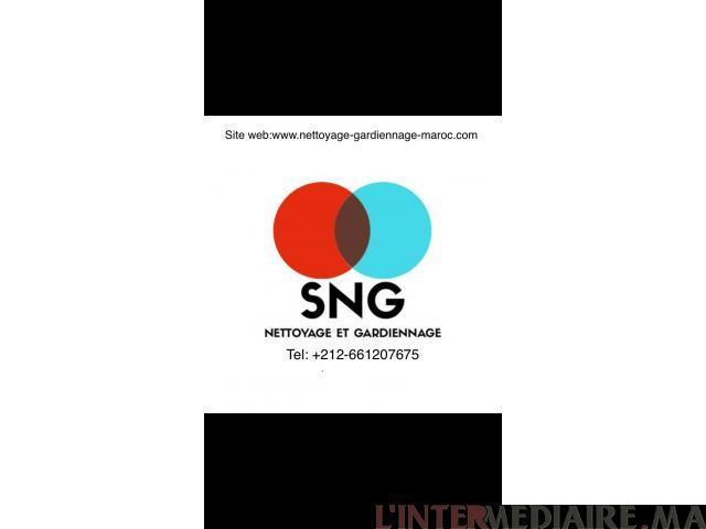 SNG: Société de Nettoyage et Gardiennage
