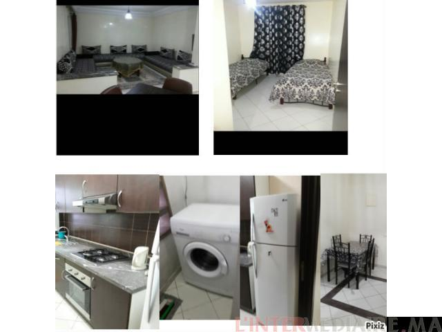 ain sebaa appartement meublé