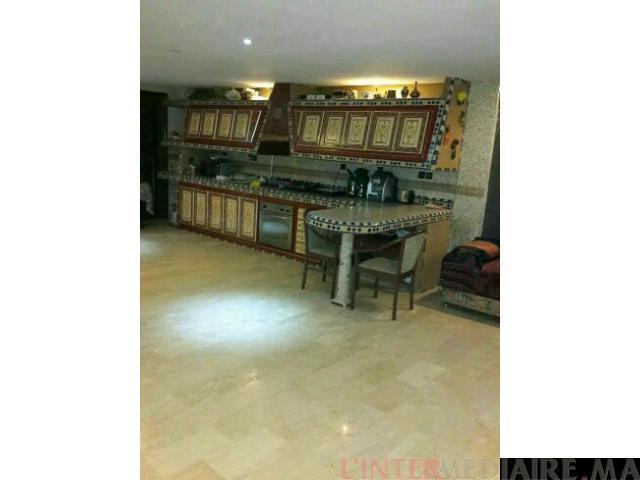 Villa meublée a vendre