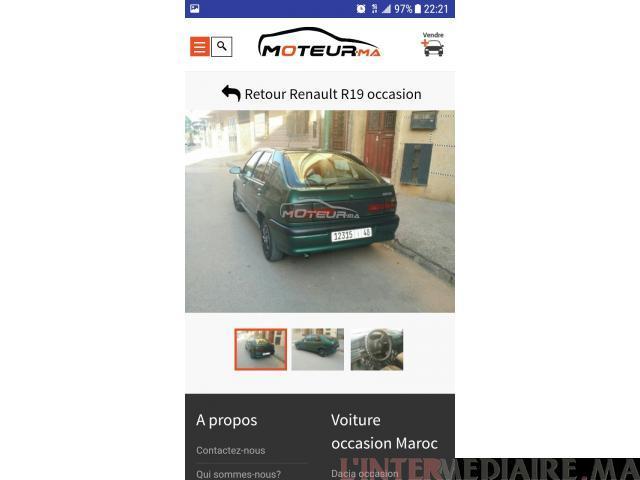 Renault 19 a vendre