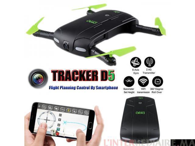 Drone flodable wifi fpv neuve 2 mega d'a