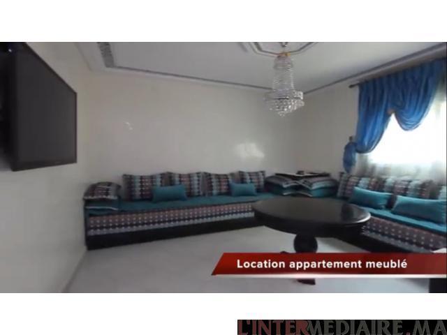 Appartement bien meublé a louer