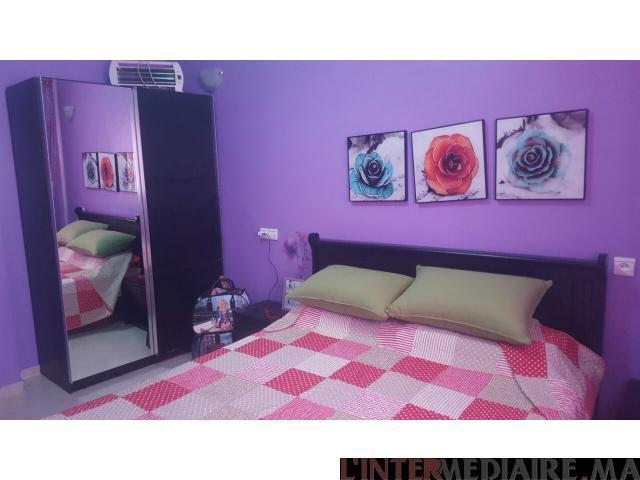 Vente appartement totalement meublé