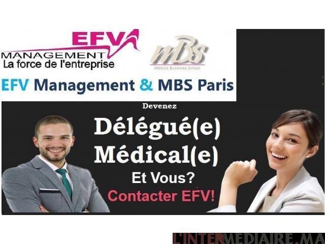 Formation Délégué Médical AVEC EFV