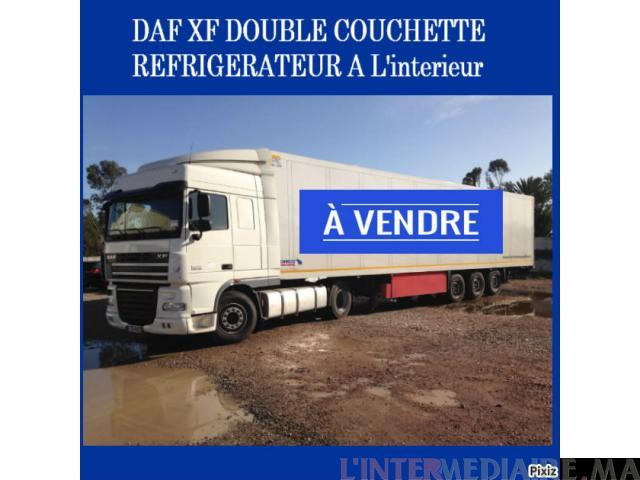 DAF XF DOUBLE COUCHETTE REFRIGERTEUR