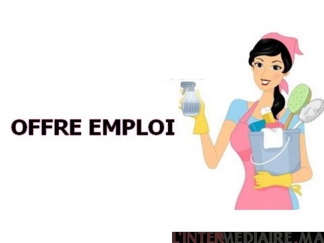 offre emploi femme de menage