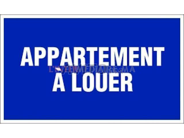 appartement meublé bernoussi