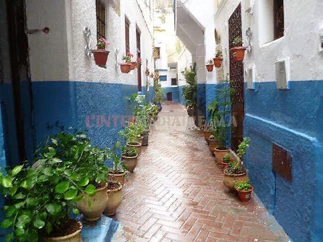 Belle maison sur Ancienne Medina Tanger