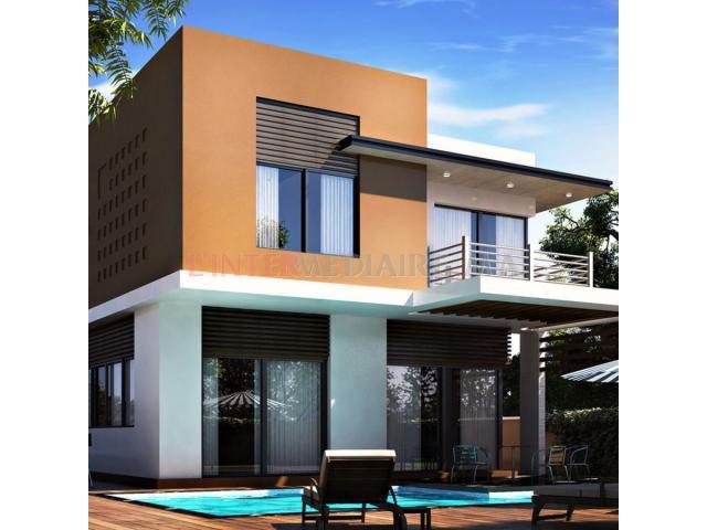 Votre Villa sur bouskoura avec piscine