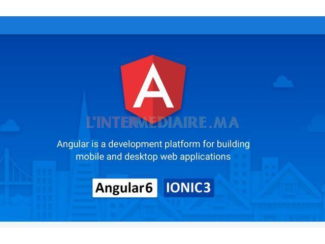 Formation  IONIC3 - Angular6