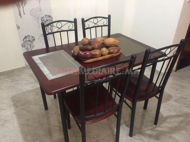 Salon L salle à manger et four à vendre
