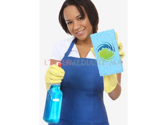 femme de ménage logée F
