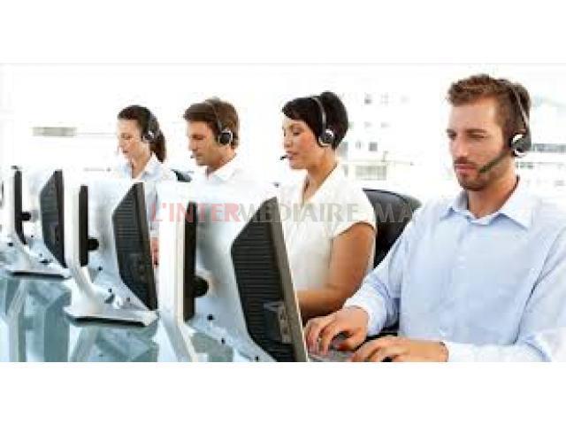 Téléconseillers débutants (centre d'appe