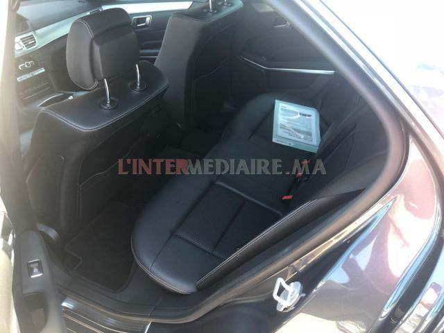 Mercedes E 220 bluetec tout option