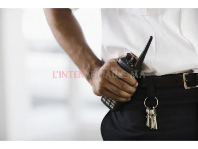 OFFRE D'emploi agents de sécurité et des
