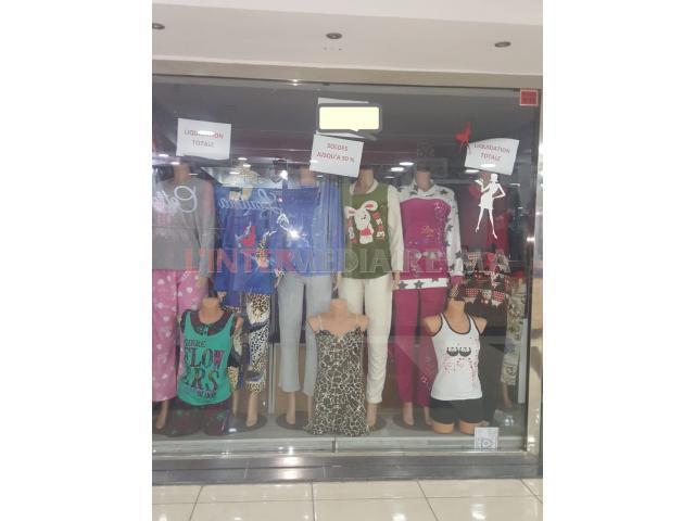 Boutique à louer à kenitramall kenitra