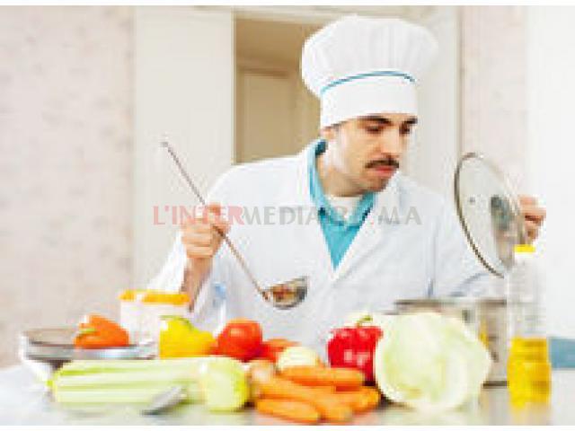 cuisinier / serveur /serveuse / safi
