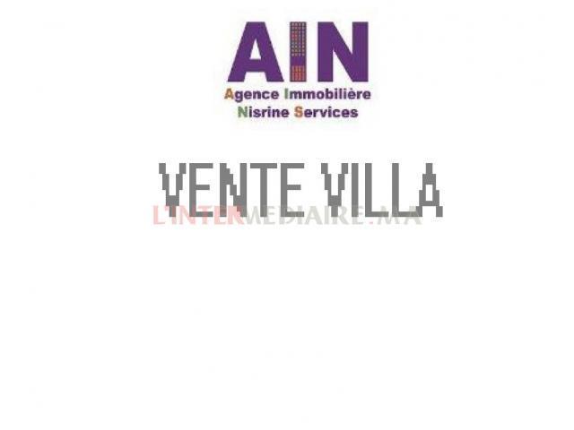 Vente Villa à AIN DIAB