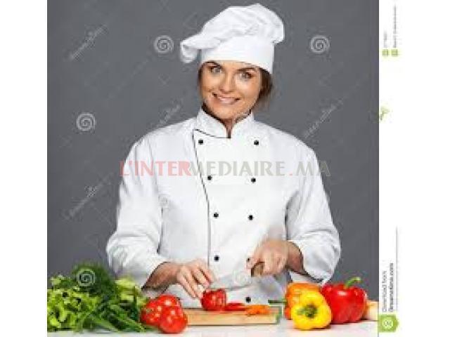 cuisinière professionnelle  // HARHOURA