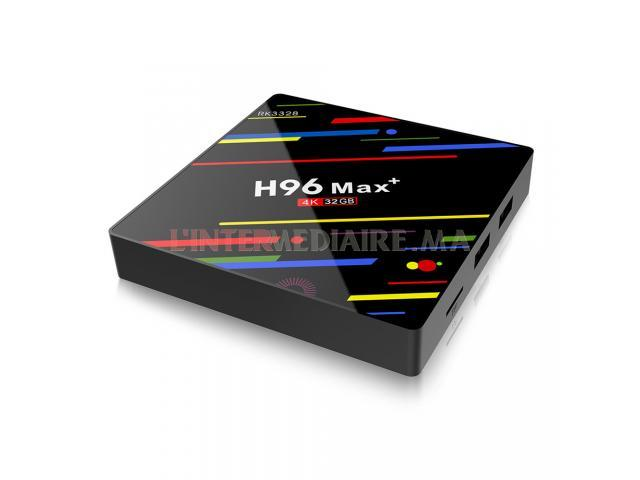 BOX TV H96 MAX PLUS ANDROID 9.0