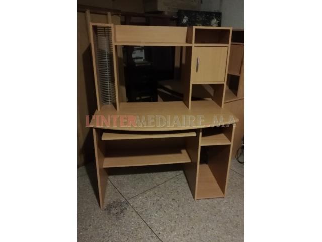 Vends bureau bibliothèque KITEA