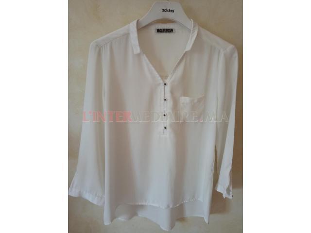Chemises blanches à vendre à bon prix