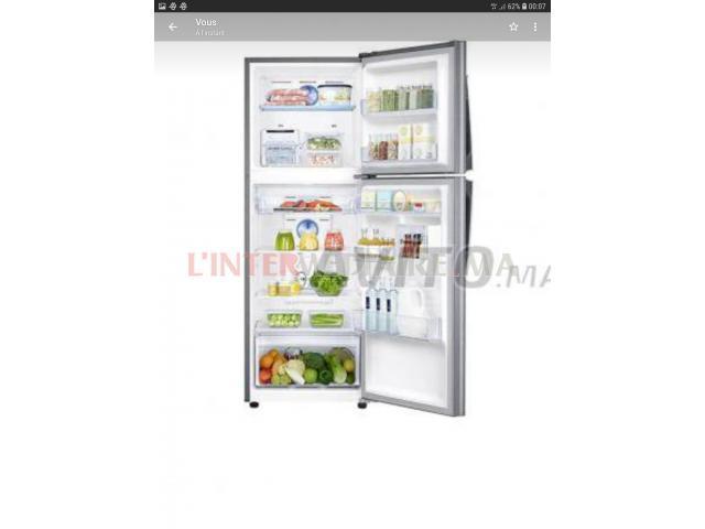 Réfrigérateur Samsung No Frost 400L/Blan