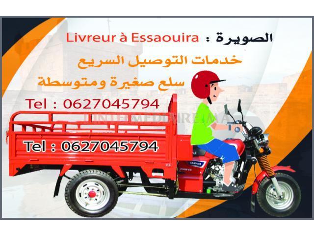 Coursier et Livreure a Essaouira