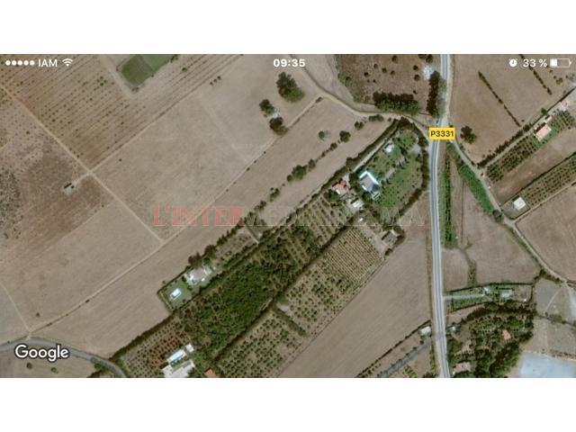Terrain titré 2ha sur bord route Rabat
