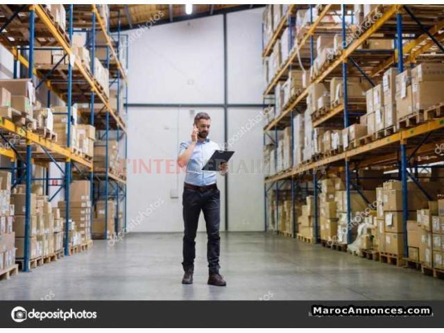 Magasinier/gestion stock et achat