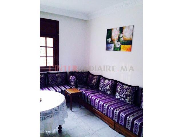 Villa à louer à Sidi rahal الشاطئ