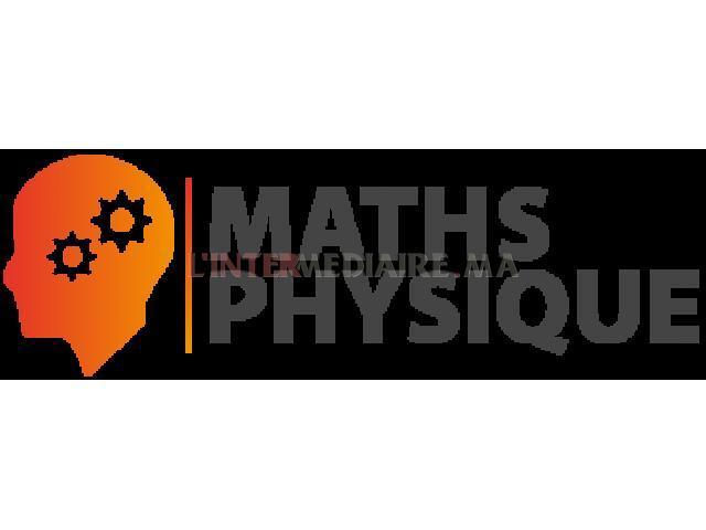 Soutien/Cours en Math/Physique-chimie à