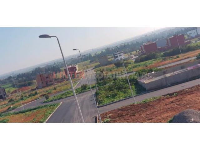 terrain pour villa 302M2 a TEMARA