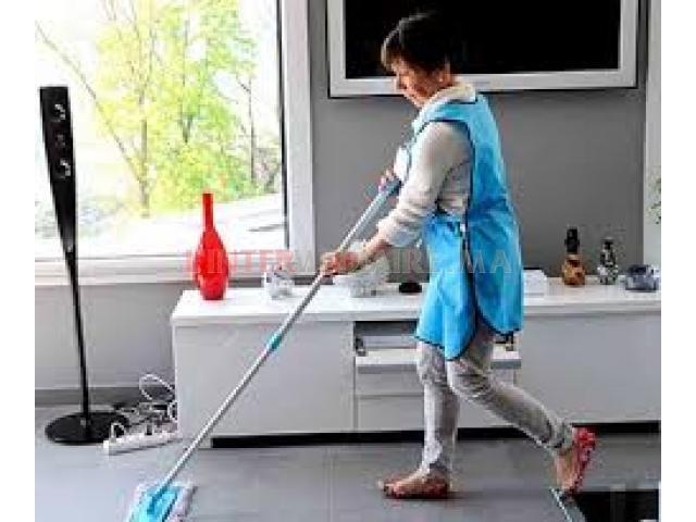 femme de ménage et cuisine