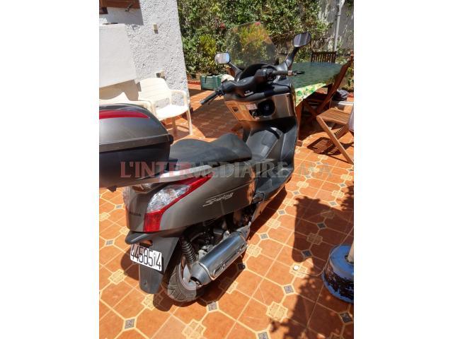 Moto Honda Swing JF1212