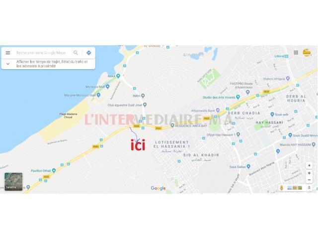 Maison A Sid Elkhadir- Hay Hasani-Route