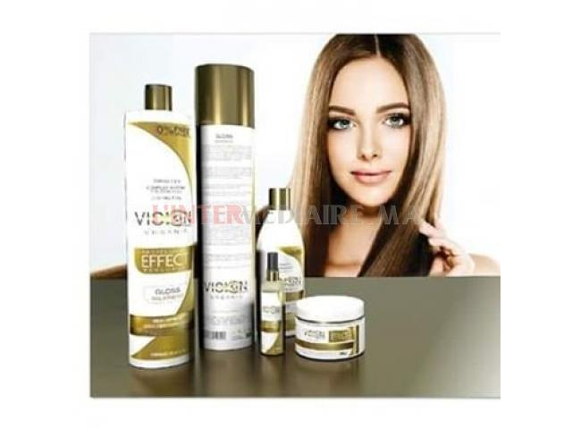 lissage cheveux protéine-kératine brezil