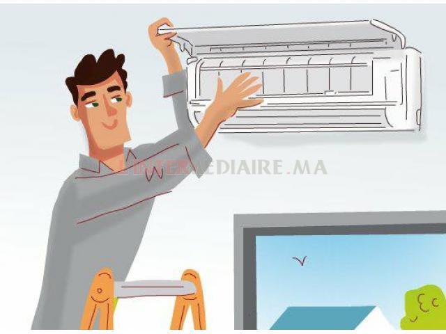 Entretien climatiseur et réfrigérateur